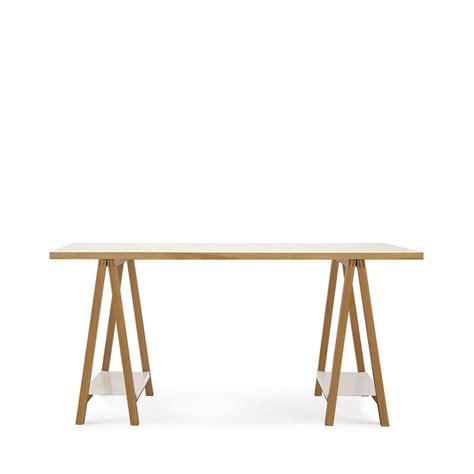 bureau bois et blanc bureau 224 tr 233 teaux design et pratique highbury drawer fr