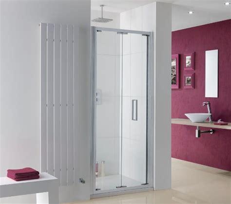 Lakes Coastline Bergen Bi Fold Shower Door 750mm 750mm Shower Door