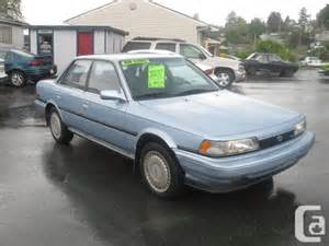 1990 Toyota Camry For Sale 1990 Toyota Camry L E For Sale In Nanaimo