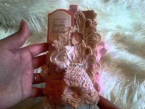 Hq 9675 I Dont Give A Chic prima mixed media doll shabby chic book card woc bunch