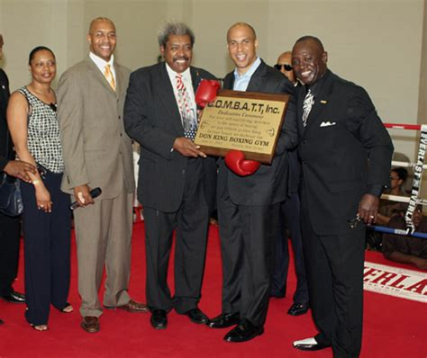 don king house grand opening of the club house a community center in newark nj pound4pound com