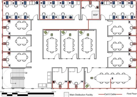 network floor plan layout new building network design whitepaper blackpool 01253