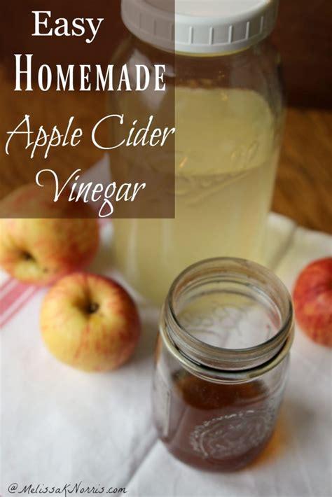 how to make apple cider vinegar at home k