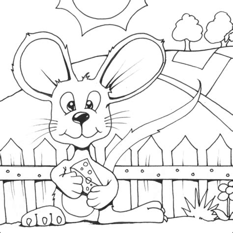 Small Mouse Colouring Printable Small Coloring Pages