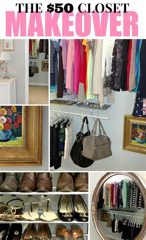 organizing a walk in closet on a budget livelovediy the 50 closet makeover