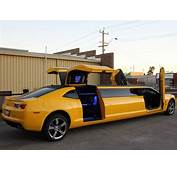 Australians Turn Chevrolet Camaro Into Gullwing Stretch
