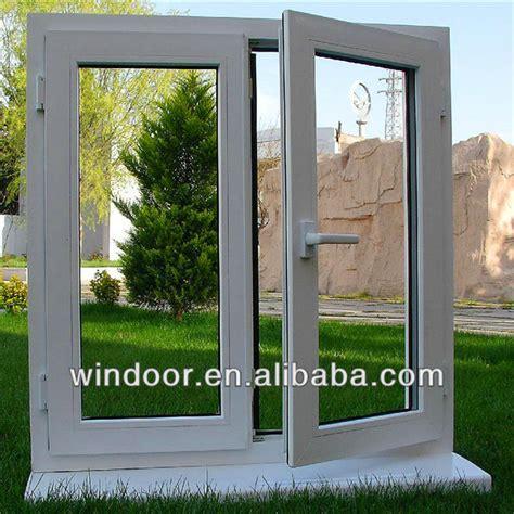 swing open windows swing open style and plastic upvc frame window materials