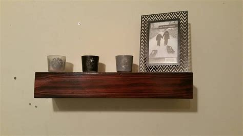 woodland home decor floating shelf wood floating shelf rustic home decor rustic by