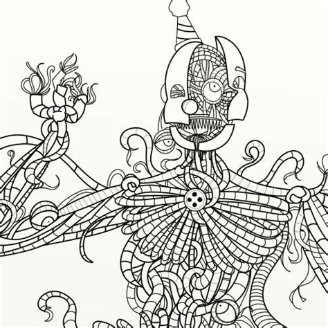 Fnaf 4 Coloring Pages by Fnaf Coloring Pages Part 1 Free Resource For Teaching