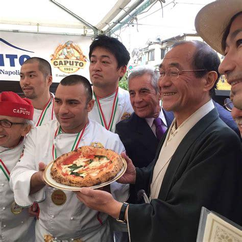 consolato australiano napoli giappone la pizza napoletana alla tappa cionato
