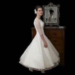 tea length wedding dresses uk timeless chic tea length lace wedding dress
