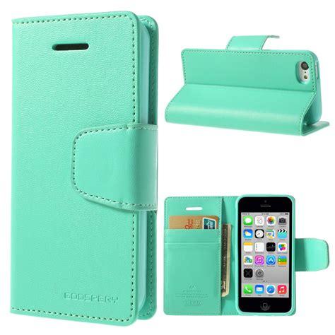 Apple Iphone Iphone 5c apple iphone 5c cyan goospery sonata wallet