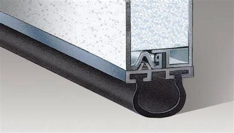 Garage Door Astragal by Ideal Door 174 16 Ft Aluminum Astragal Retainer At