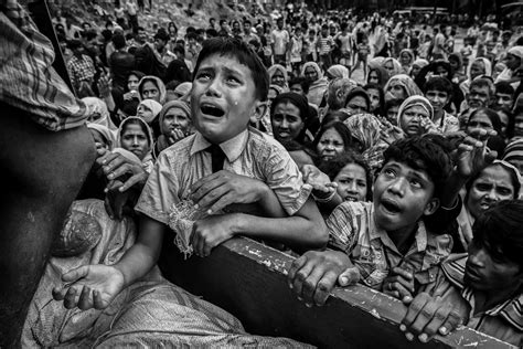Detox Waiting For The War by Myanmar Powerful Photos From Rohingya Exodus To Bangladesh