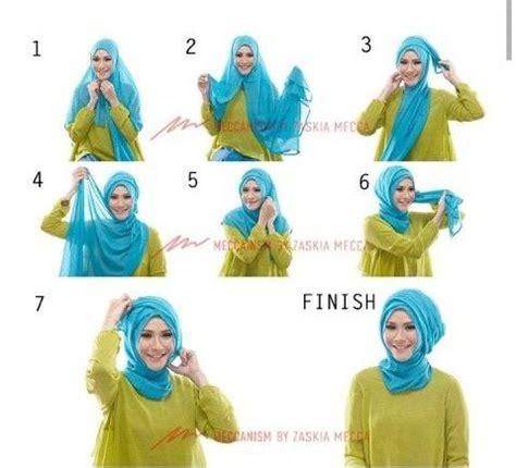 tutorial hijab turban zaskia 67 best easy peasy hijab tutorial images on pinterest