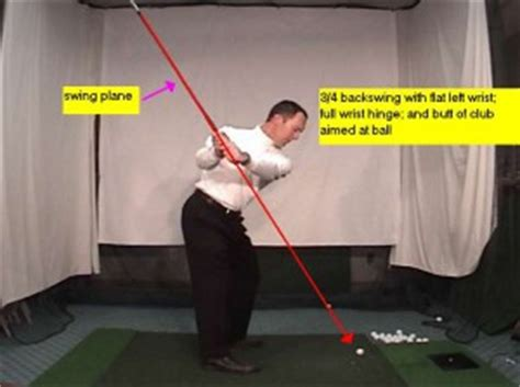flat left wrist in golf swing flat left wrist golf impact position like camilo villegas