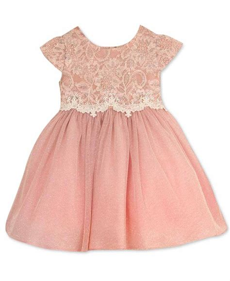 trendy lace dresses for baby for summer wedding