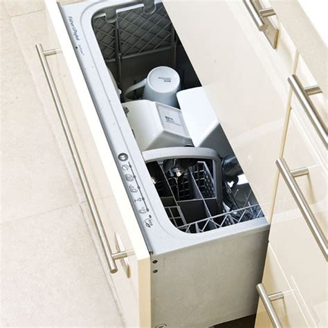 Drawer Dishwasher Uk by Dishwasher Be Inspired By This Glossy Kitchen