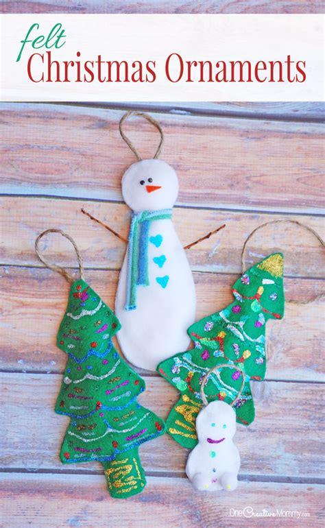 cool ornaments felt ornaments cool craft