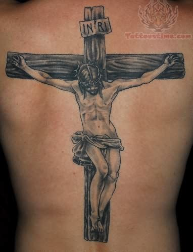 body tattoos for men jesus back for