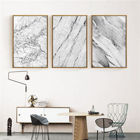 abstract marble posters prints nordic canvas paintings