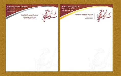 personable letterhead design design for