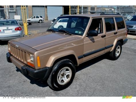 sand jeep for sale 2000 jeep cherokee sport 4x4 in desert sand pearl photo 4