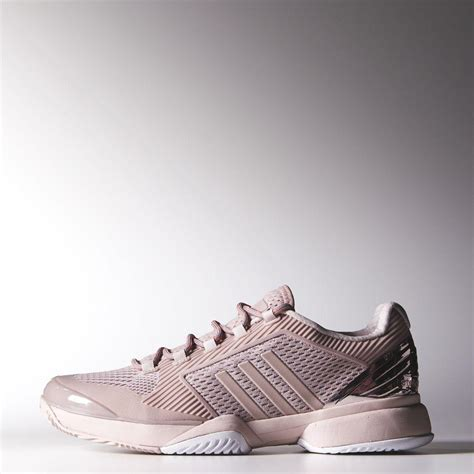light pink adidas sneakers adidas womens stella mccartney barricade 2015 tennis shoes