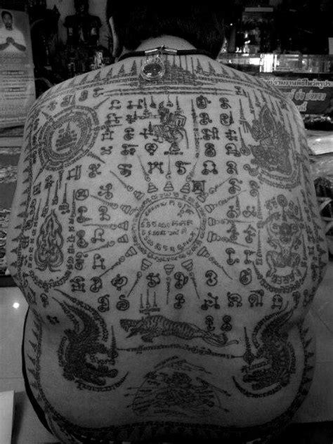 yantra tattoo neck 122 best images about thai tattoos sak yant on pinterest
