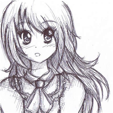 Sketches With Pen by Gel Pen Sketch By Devangelic On Deviantart
