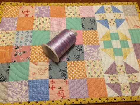 debby brown quilts quilt finish placemats