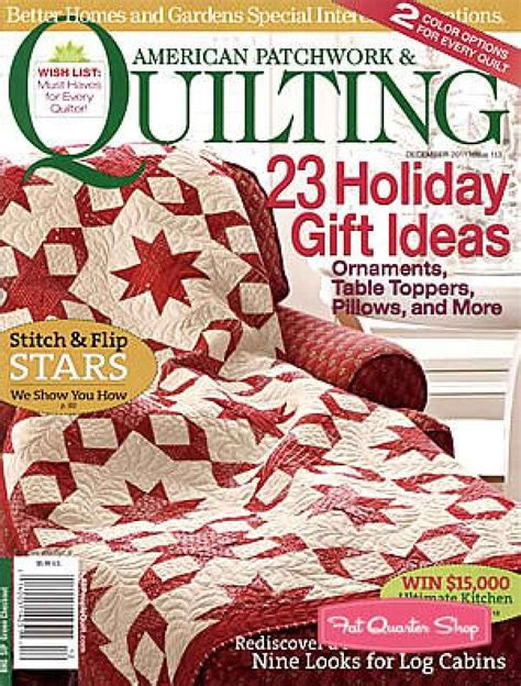 Patchwork Quilting Magazine - magazines better homes and gardens