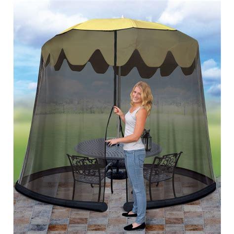 Patio Umbrella With Screen Enclosure 11 Umbrella Table Screen Cover Mosquito Bug Insect Outdoor Patio Picnic Net Miscellaneous