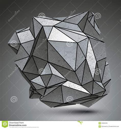 imagenes geometricas en 3d distorted galvaniz 243 el objeto 3d creado de figuras