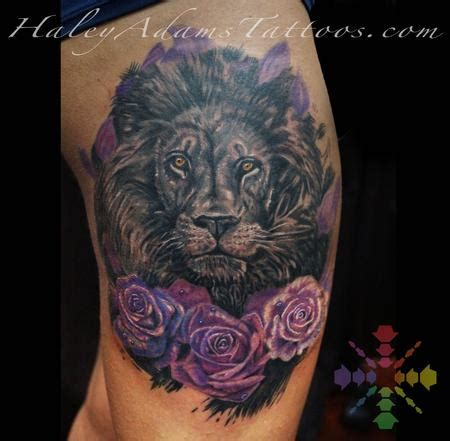 lion and rose tattoo tattoos page 1