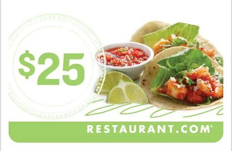 Dine Restaurant Com Redeem Gift Card - restaurant com gift card 25 00