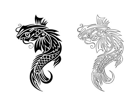 koi fish tattoo outline designs koi tattoos designs ideas and meaning tattoos for you