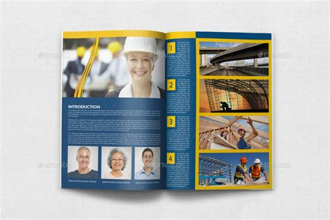 construction brochure template vol 3 by owpictures