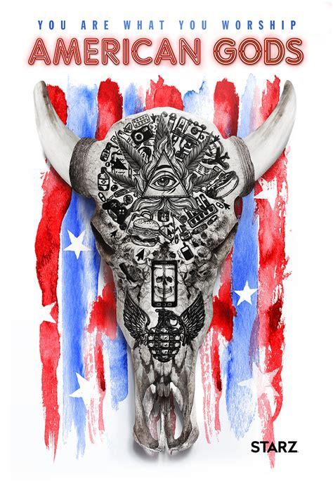 american gods series 1 american gods teaser poster blackfilm read