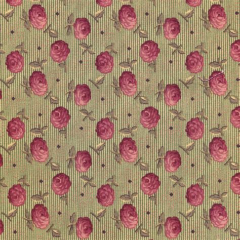 Cottage Fabric by Cottage Quilting Fabric Mini Flowers On