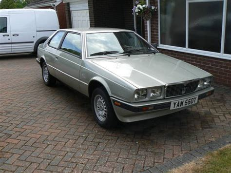 old maserati biturbo maserati biturbo 1981 sold on car and classic uk c640905