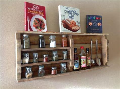 diy wooden wall spice rack diy pallet wood spice rack pallets designs