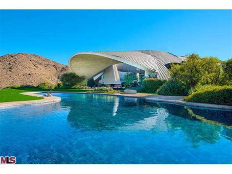 Mid Valley Floor Plan by Bob Hope Estate By John Lautner In Palm Springs Lists