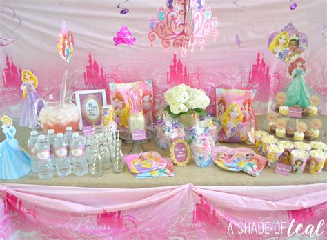 printable disney princess party decorations a disney princess party on a budget plus free printables