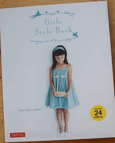 japanese pattern books english book review girls style book in english japanese
