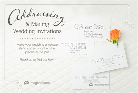 Get The Scoop: Addressing Wedding InvitationsGet The Scoop