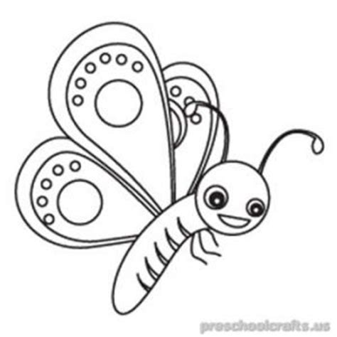 Butterfly Coloring Pages For Toddlers by Butterfly Coloring Pages For Preschool And Kindergarten