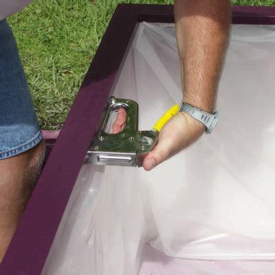 Planter Box Liner Material by Planter Liner Installation