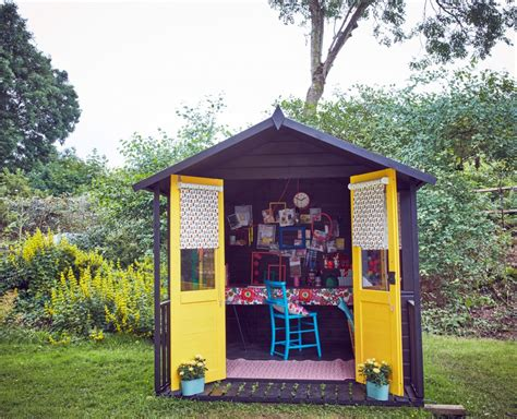 How to design and decorate a She Shed creative work space