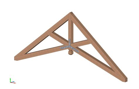 what is a scissor can a scissor truss be designed for a 28 215 40 house